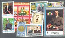 GENERAL DE GAULLE - 100 toutes différentes collection-Personnes célèbres