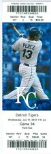 2013 Royals vs Tigers Ticket: Lorenzo Cain HR 9th, Eric Hosmer RBI in 10th