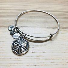ALEX AND ANI Path Of Symbols Aphrodites Flower Bangle Bracelet