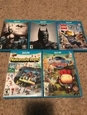 Lot of 5 Nintendo Wii U Games Lot
