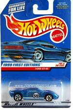 1999 Hot Wheels #921 First Editions #16 Ford GT-40 with thin rear tires