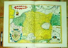 Deutschland Germania alte Landkarte Reproduktion 60 x 43 cm (Ortelius 1595)