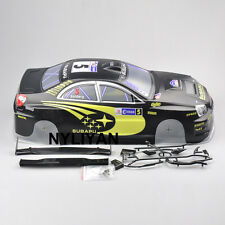 Kforce 190mm Body Shell PVC With Rear Wing #S9BK For 1/10 RC  Racing Car HSP HPI