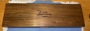 Vintage Gerber Legendary Blades 3 Piece Carving Set American Walnut Case