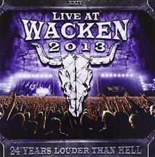 Live At Wacken 2013 - Various (NEW 2CD)