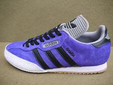 Adidas Samba Super CUSTOM Purple Suede & Black Laces (UK 10) BNIBWT