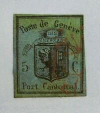 1846 SWITZERLAND #2L3: F/VF Used Cantonal Administration  **FORGERY**