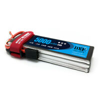 DXF 11.1V 5000mAh 3S 50C-100C LiPo Battery with Traxxas TRX Plug for RC DJI F450