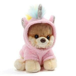 """GUND World's Cutest Dog Boo Itty Bitty Boo Unicorn Stuffed Animal Plush, 5"""""""