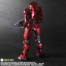Halo Combat Evolved Spartan Mark V RED Play Arts Kai Action Figure