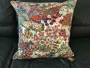 "Pottery Barn Spring Blossom Print Pillow Cover 24"" Square New with Tag"