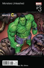 MONSTERS UNLEASHED #3 (OF 5) (2017) 1ST PRINTING WILLIAMS HIP HOP VARIANT COVER