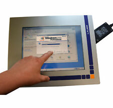 Touch Screen TFT Monitor with Wall PC Lauer Aiovision for Dos Windows 95 98 2000