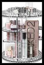 Sorbus MUP-TURNA 360° Makeup Organizer Carousel - Clear