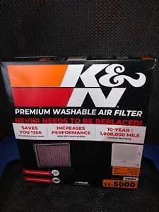 K&N Filters 33-5000 Air Filter NEW