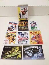 MOVIE POSTERS 2009 STARS, MONSTERS & COMEDY Breygent Complete Card Set