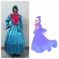 Cinderella Fairy Godmother Dress Adult Halloween Cosplay Costume