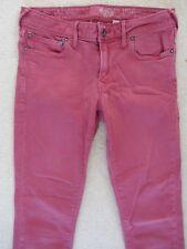 JACK WILLS Skinny W27 L32 Lightweight Pink Stretch Denim Jeans 350-4-842