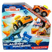 Little Tikes Wheelz Slammin' Racers Car Stunt Jump Playset