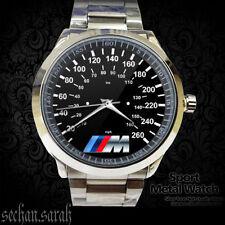NEW BMW M3 Series Gauges Unisex Sport Metal Watch Logo Apparel Merch##*