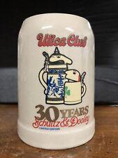Utica Club Schultz and Dooley 30 Years Anniversary Mug Webco