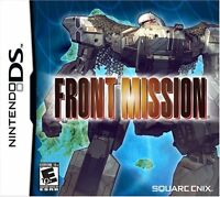 Front Mission [Nintendo DS DSi, Tactical RPG, Square Enix] NEW