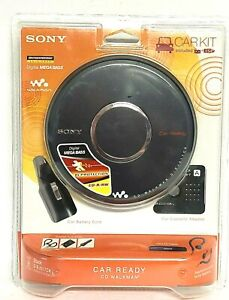 Sony Walkman D-EJ017CK Portable CD Player Car Ready - New Sealed 2007 NOS