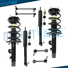 2010 2011 2012 Ford Flex 8pc Front Rear Struts & Spring Shock Absorber Sway Bars