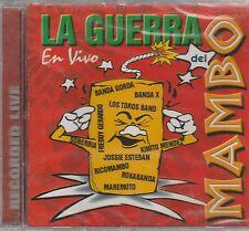 La guerra del Mambo En vivo - BANDA GORDA LOS TOROS BAND BANDA X CD 1999 SEALED