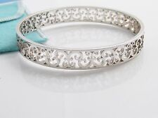 Tiffany & Co Silver Enchant Bangle Bracelet!