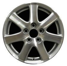 "16/"" Honda Accord 2006 2007 Factory OEM Rim Wheel 63907 Silver Machined"