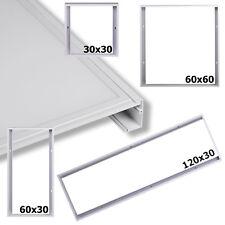 LED Panel Rahmen 30x30 60x30 120x30 60x60  Aufputz Aufbau Deckenaufbau Weiß