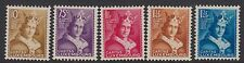LUXEMBOURG : 1933 Child Welfare set   SG 312-6 mint