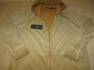 Men's AUTHENTIC HARLEY DAVIDSON Oak Leaf FULL ZIP HOODIE Coat- Size XL