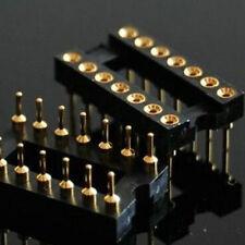 2,18 PIN GOLD DIP IC SOCKET BASE PANEL PCB ADAPTER,G18S