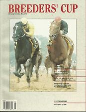 1989 - Breeder's Cup @ Hollywood Park Souvenir Magazine in MINT Condition
