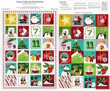 Advent Calendar fabric panel A Christmas Wish Studio E xmas sewing