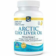 Nordic Naturals - Arctic CLO, Heart and Brain Health, and Optimal Wellness, 90 S