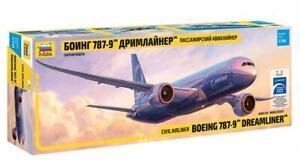 Zvezda 7021 1/144 Boeing 787-9 Dreamliner Plastic Model Kit