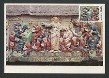 NIEDERLANDE MK 1975 FASSADEN-ZIERSTEINE KUNST ART CARTE MAXIMUM CARD MC CM d5767