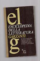 enciclopedia della letteratura garzanti -