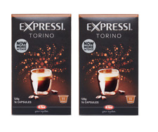 32 Capsules (2 boxes) Aldi Expressi Coffee Pods Torino - Intensity 11