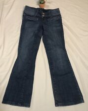 Pre-owned Z co. Womens/misses Jeans Sz9 Med Wash Low Waist