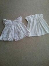 2 GIRLS DRESSES - 6+ MONTHS