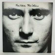 Phil Collins Face Value LP Vinyl SD-16029 Gatefold Pop Rock Atlantic Records