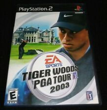 AUTHENTIC Tiger Woods PGA Tour 2003 PlayStation 2 2004 PS2 Tested CIB ORIGINAL
