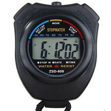 Stopwatch Stop Watch LCD Digital Professional Chronograph Timer Counter Sport PG