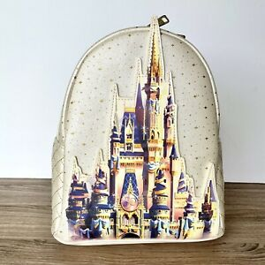 Disney World 50th Anniversary Cinderella Castle Collection Loungefly Backpack