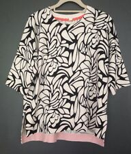 BNWOT Beautiful Ladies WHITE STUFF 100% Merino Wool Top Jumper Size 12 RRP £54