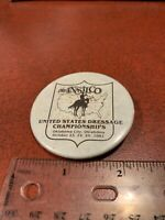 United States Dressage Championships 1981 Vintage Pin Button FREE SHIPPING